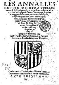 Annales de Foix_1539